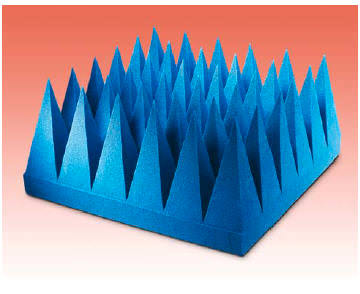 Very High Performance Pyramidal EMI Absorber