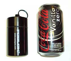 FOBLOK Compared to pop can for size