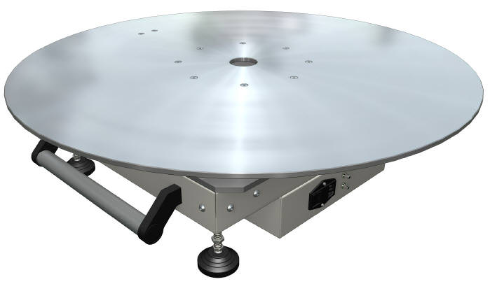 Mobile Surface EMC Turntable