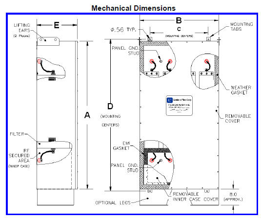 Genisco Mechanical Drawing