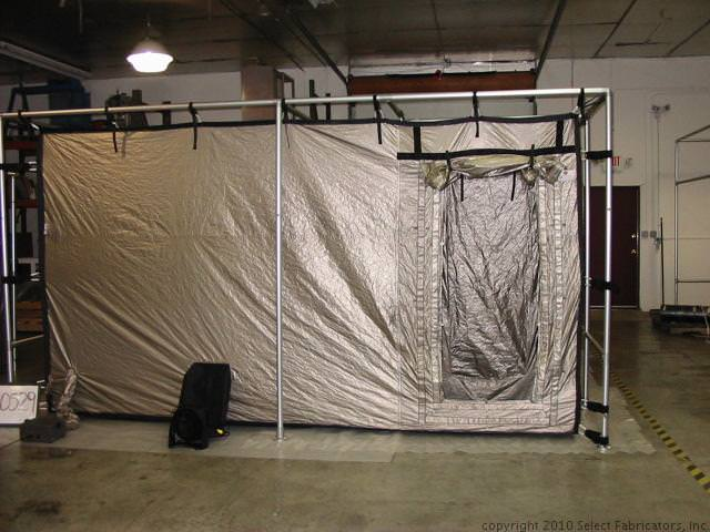 EMI Shielded Tent with Vestibule