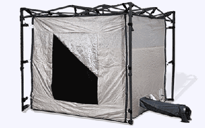 Portable Tent Enclosures : Ra mayes rf shielded tent ez up frame