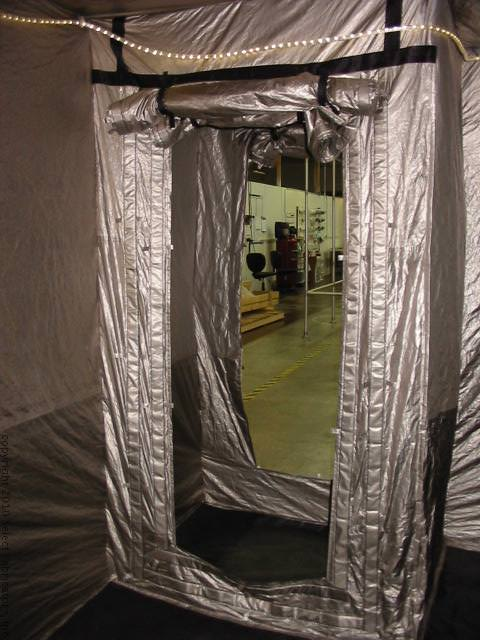 RFI Shielded Tent Vestibule