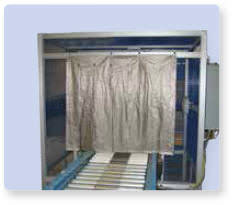 RF Curtain on Conveyer Line