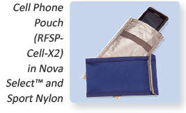 RF Shielded Cell Phone Pouch
