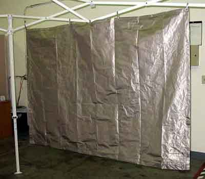 Ra Mayes Rf Shielded Curtains Covers And Tarps For Emi