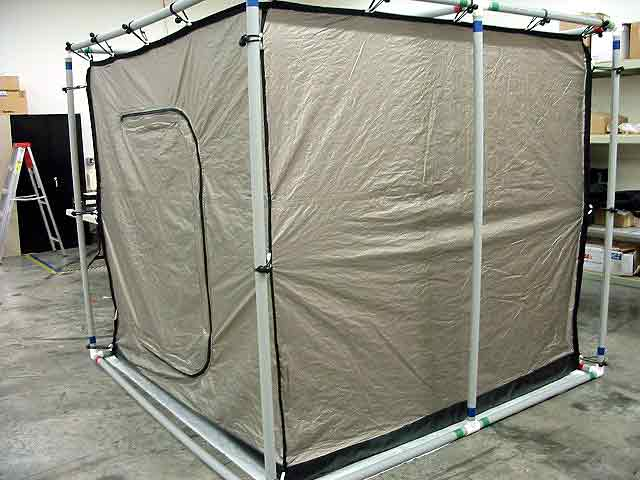 The PVC Frame Tents Are Special Order & RA Mayes | RF Shielded Tent - PVC Frame