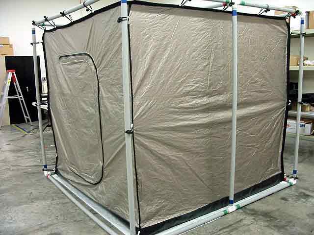 Ra Mayes Rf Shielded Tent Pvc Frame