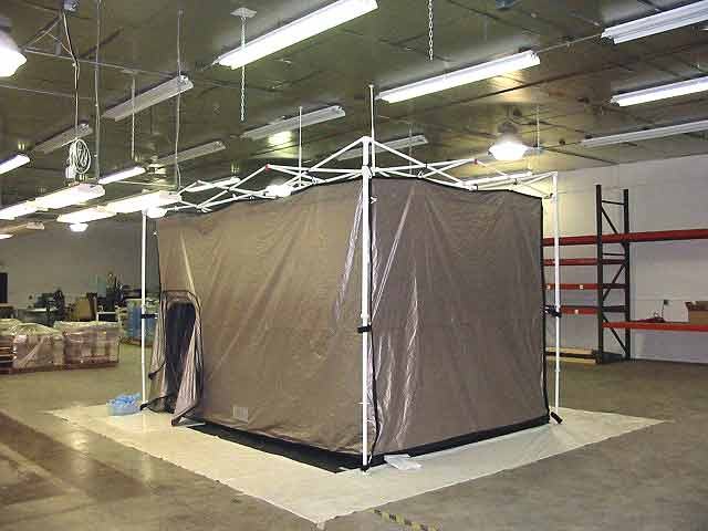 Ra Mayes Rf Shielded Tent Ez Up Frame