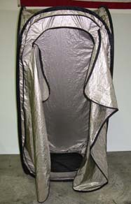 Self Erecting RF Shielded Tent