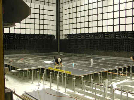 10 meter Anechoic Chamber Under Construction
