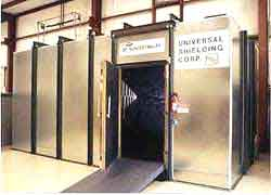 Universal Series 26 Solid Wall Shield Room