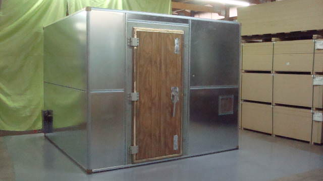 Ra Mayes Used Test Equipment Rf Shielded Room And